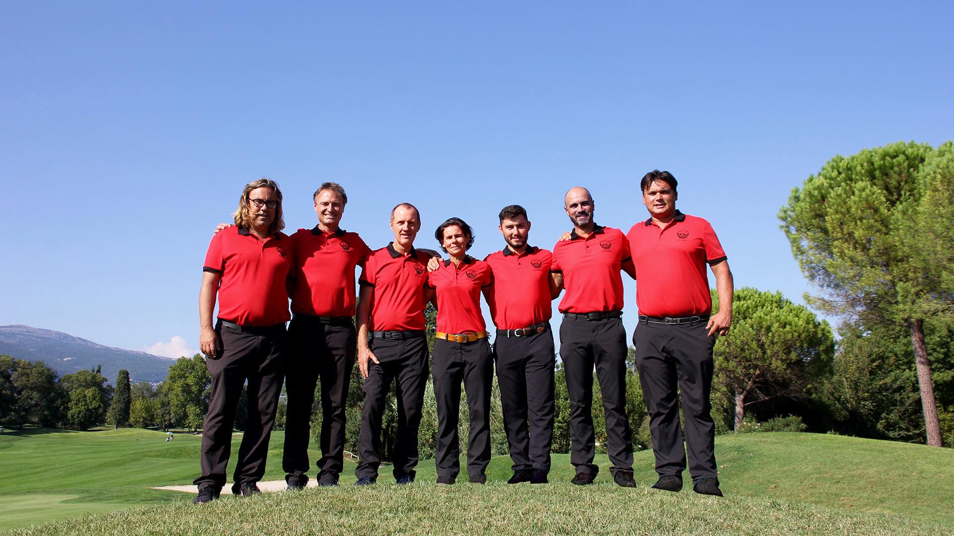 Académie enseignant stages et cours de golf à Cannes en PACA