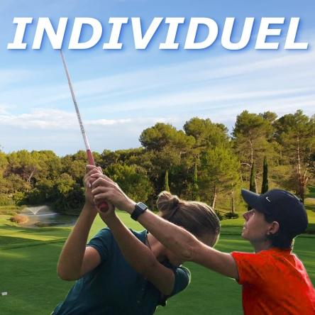 Cours individuels de golf et leçons particulières