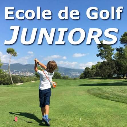École de golf enfants et juniors Alpes Maritimes