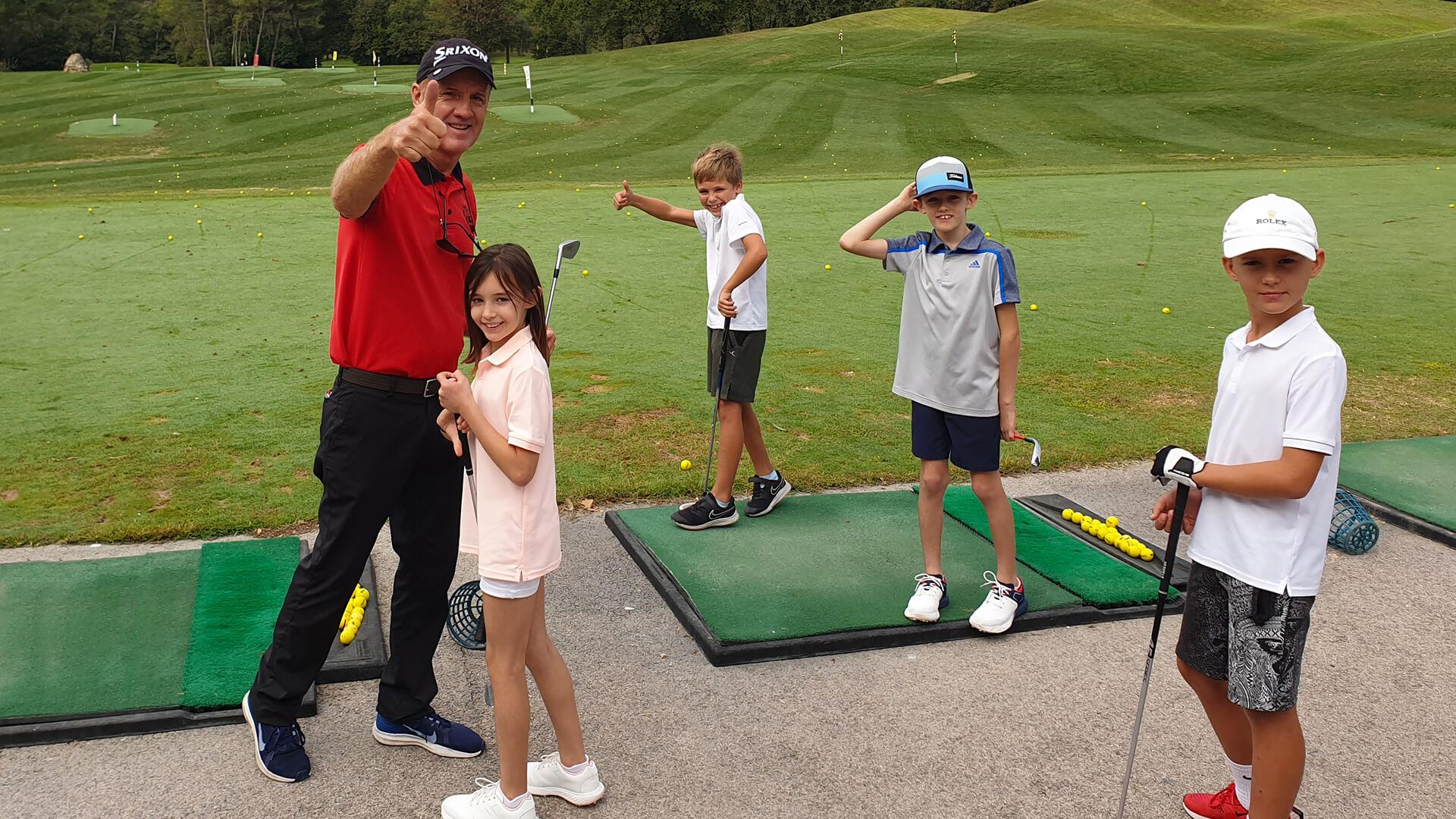 L'École de golf pour Enfants la plus performante des Alpes Maritimes