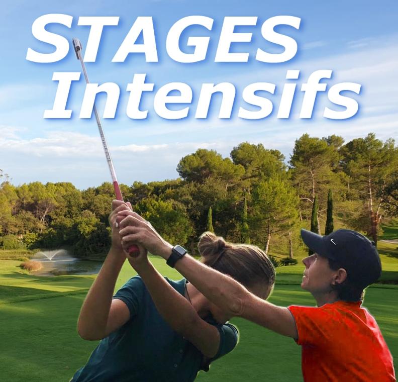 Stage de golf en région Sud sur Cannes en PACA