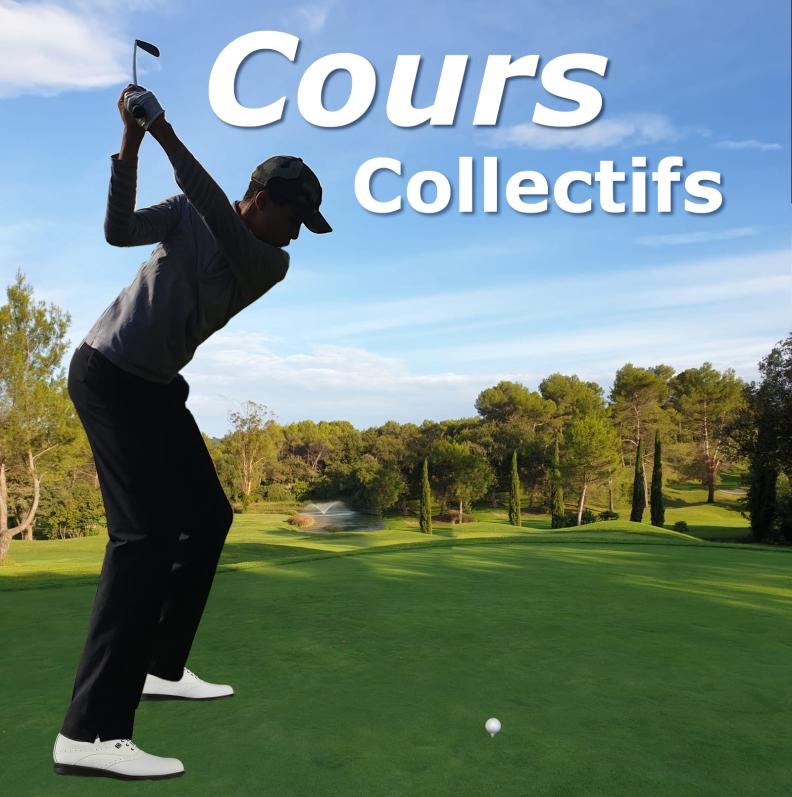 Leçons collectives de golf et tarification des séances