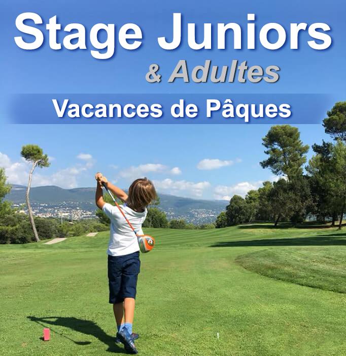 Stages pour les enfants golfeurs des Alpes maritimes